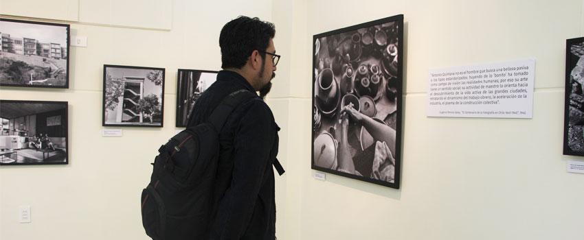U. de La Serena abrió ciclo de exposiciones con muestra de Antonio Quintana producida por Archivo Patrimonial