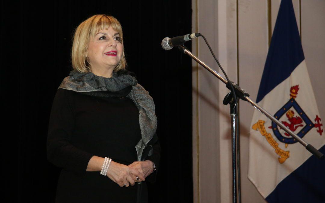 Máxima autoridad de la Unión Europea entregó mensaje a jóvenes chilenos durante concierto en la U. de Santiago