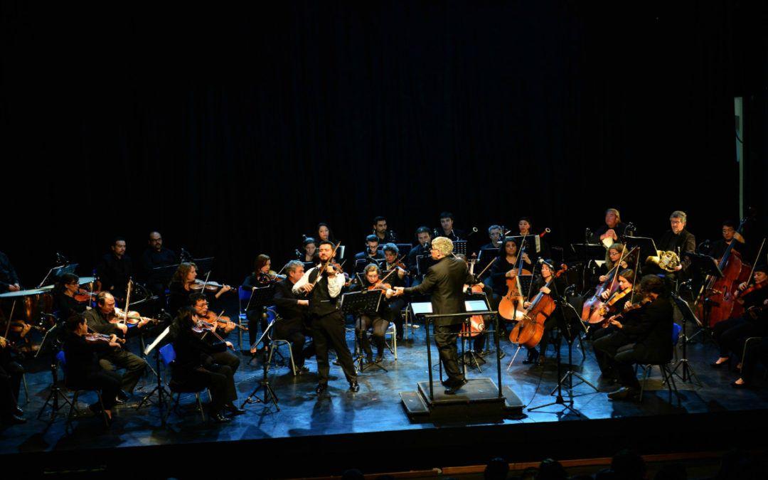 Gran concierto entregó la Orquesta Clásica a vecinos y estudiantes de Cerrillos en su primera visita
