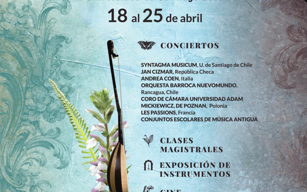 XIV Festival Internacional de Música Antigua U. de Santiago