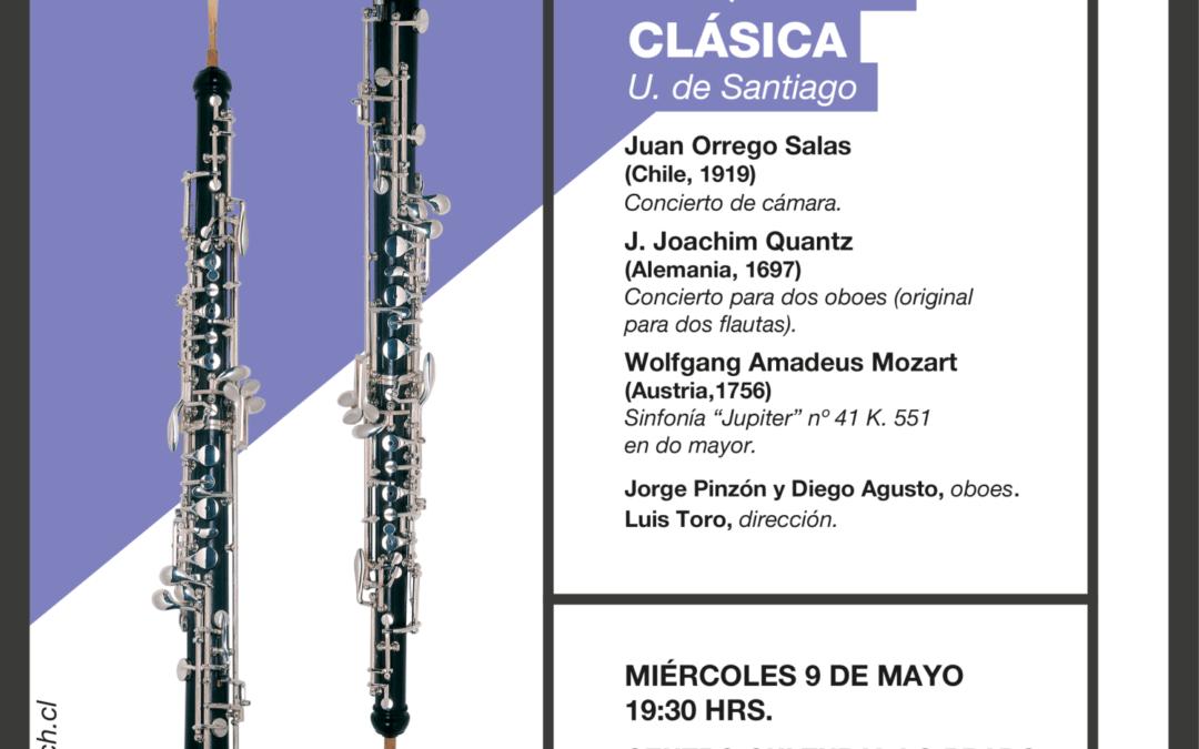 Orquesta Clásica U. de Santiago en Lo Prado