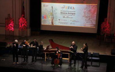 Exitoso balance de la XIV versión del Festival de Música Antigua 2018