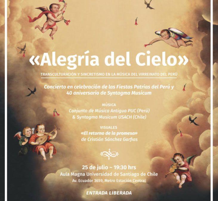 Syntagma Musicum U. de Santiago celebra con un concierto audiovisual sus 40 años de trayectoria en el marco de las Fiestas Patrias del Perú