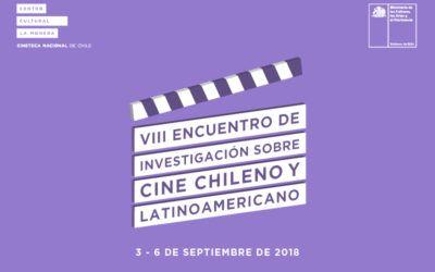 """Somos colaboradores oficiales del """"VIII Encuentro investigación de cine chileno y latinoamericano"""""""