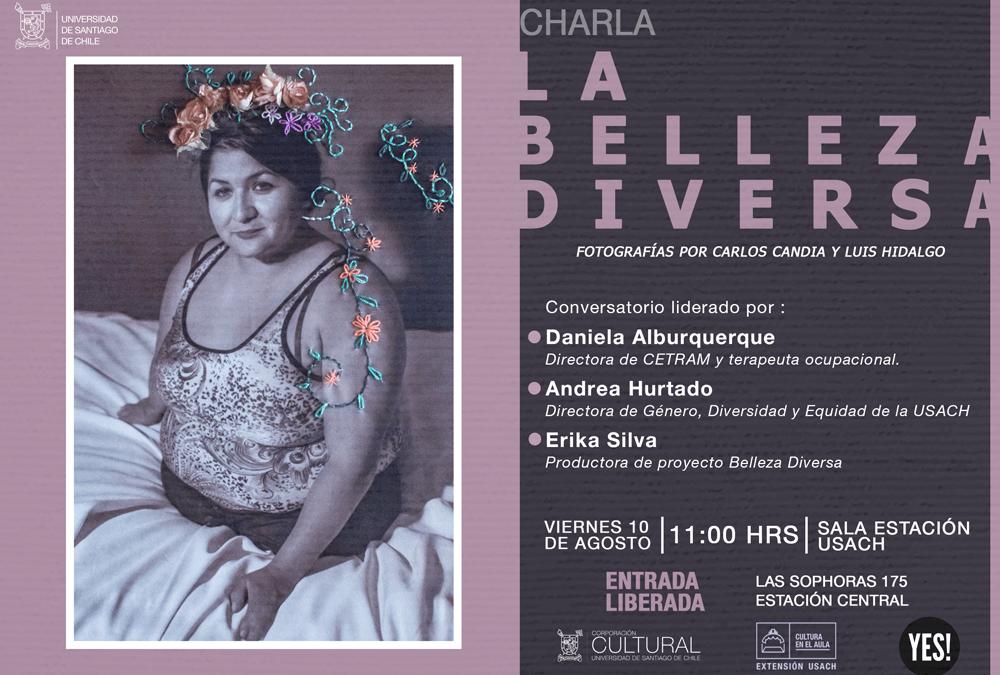 Charla: La Belleza Diversa