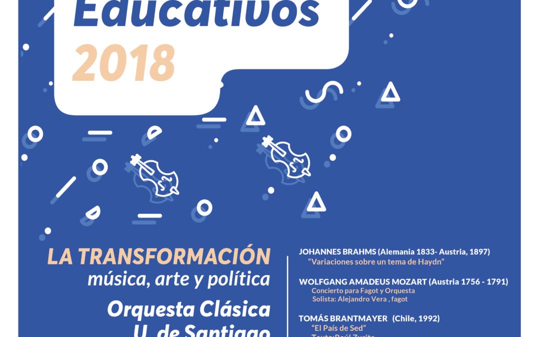 Conciertos Educativos de la Orquesta Usach