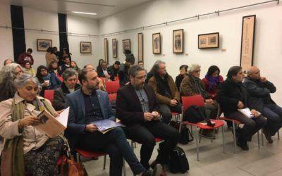 Exposición de dibujos realizados en prisión política por ex estudiante UTE recorre centros culturales