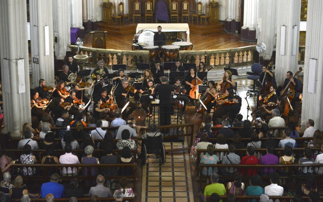 Orquesta Clásica U. de Santiago termina sus Conciertos de Extensión 2018 en Independencia con obras de Tilo González