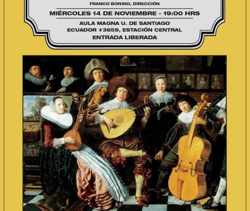 """Syntagma Musicum presenta """"El apogeo del estilo barroco francés"""""""