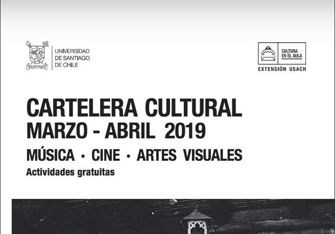 Cartelera cultural marzo/abril 2019 en formato digital