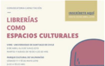 Convocatoria Curso de Capacitación «Librerías como espacios culturales»