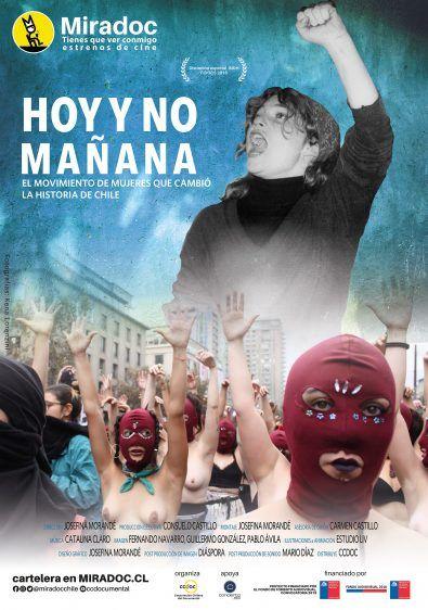 """Atlas Cinematográfico de Chile presenta el estreno de """"Hoy y no mañana"""" (2018)"""