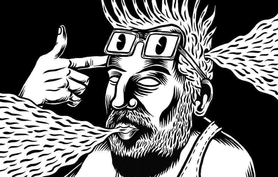 """""""DARK SIDE"""" UNA EXPOSICIÓN DE MARCO TÓXICO Y HOMBRE CÓMIC"""