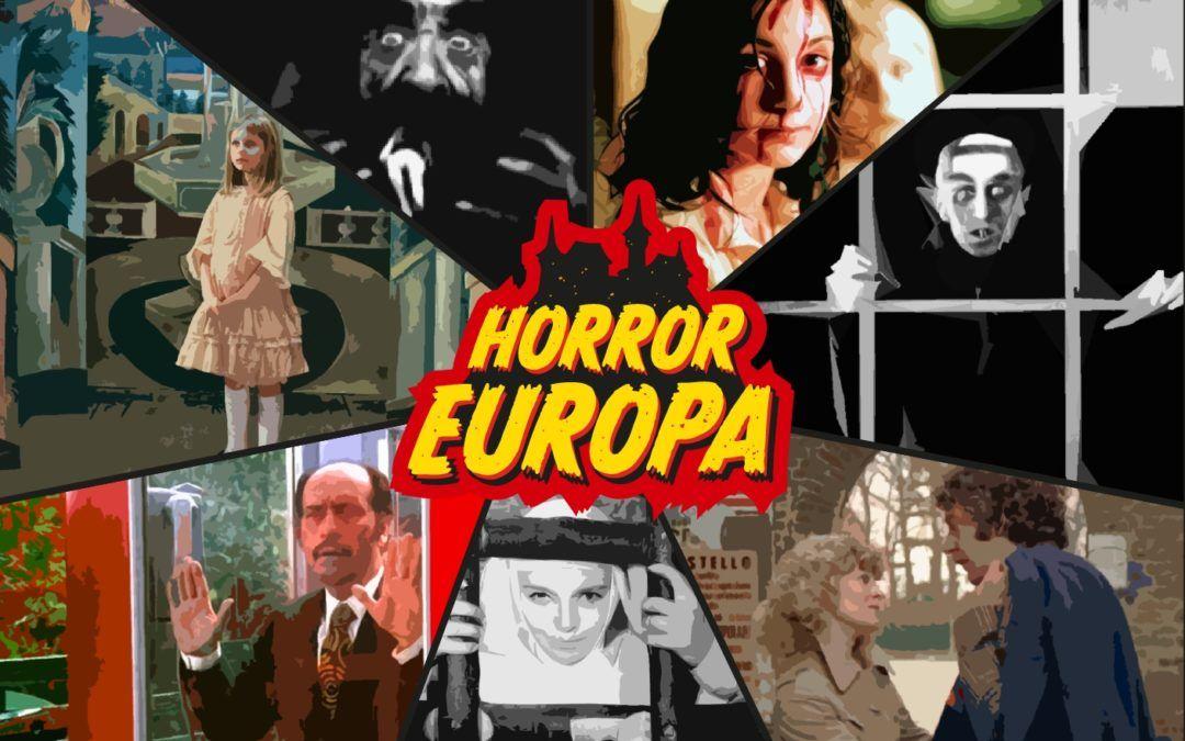 """III Muestra de Cine Fantástico y de Terror Usach presenta """"Horror Europa"""" del 21 de marzo al 21 de junio en Sala Estación"""