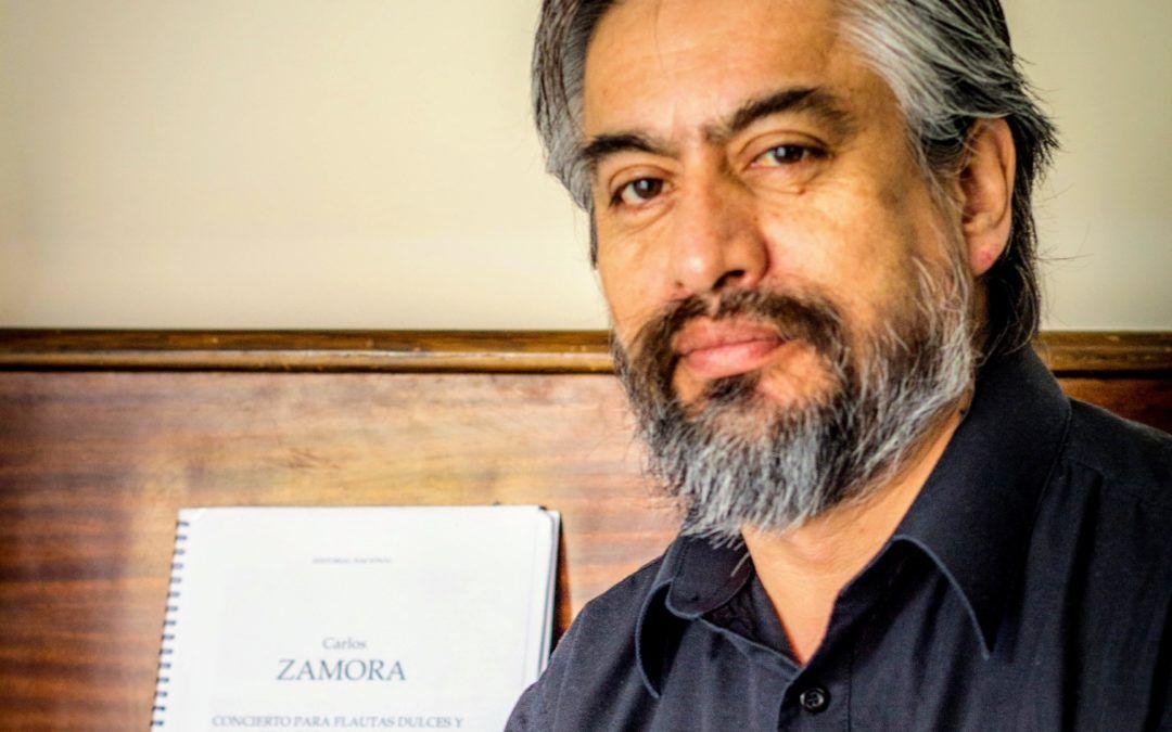 """Carlos Zamora, compositor chileno: """"Mi incursión en la música precolombina, más que un interés musicológico es un rescate emocional"""""""