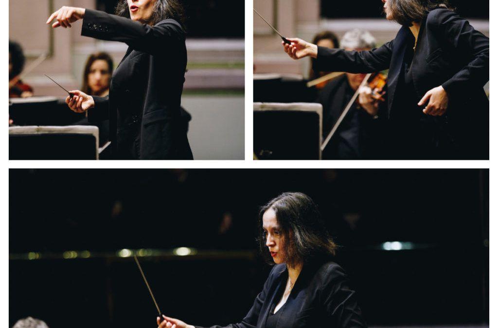 """Alejandra Urrutia, directora orquestal: """"Más que con las mujeres, siento una responsabilidad de ayudar a toda la nueva generación de músicos"""""""