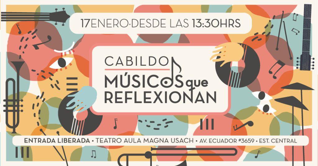 """Universidad de Santiago convoca a actores del medio artístico musical a participar del encuentro """"Músicxs que reflexionan"""""""