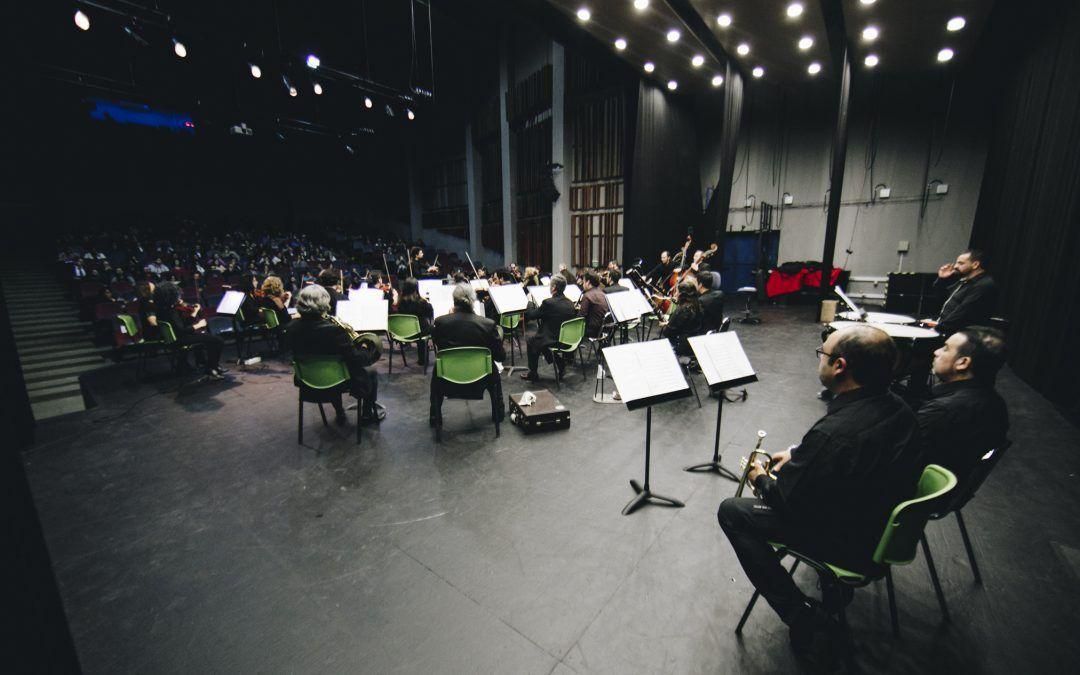 Orquesta Clásica Usach lleva a Beethoven, Soro y Piazzolla a Lo Prado