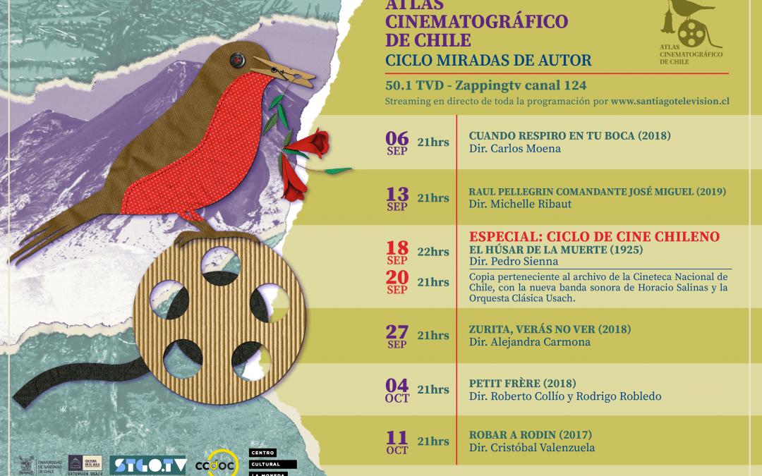 Vuelve el ciclo Atlas Cinematográfico de Chile por las pantallas de STGO TV.