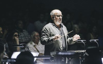 Aula Records exhibe «El húsar de la muerte» en la presentación del nuevo disco de Horacio Salinas y la Orquesta Usach
