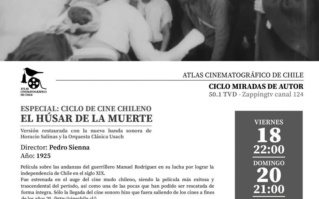 Atlas Cinematográfico de Chile «El húsar de la muerte» en STGO TV.