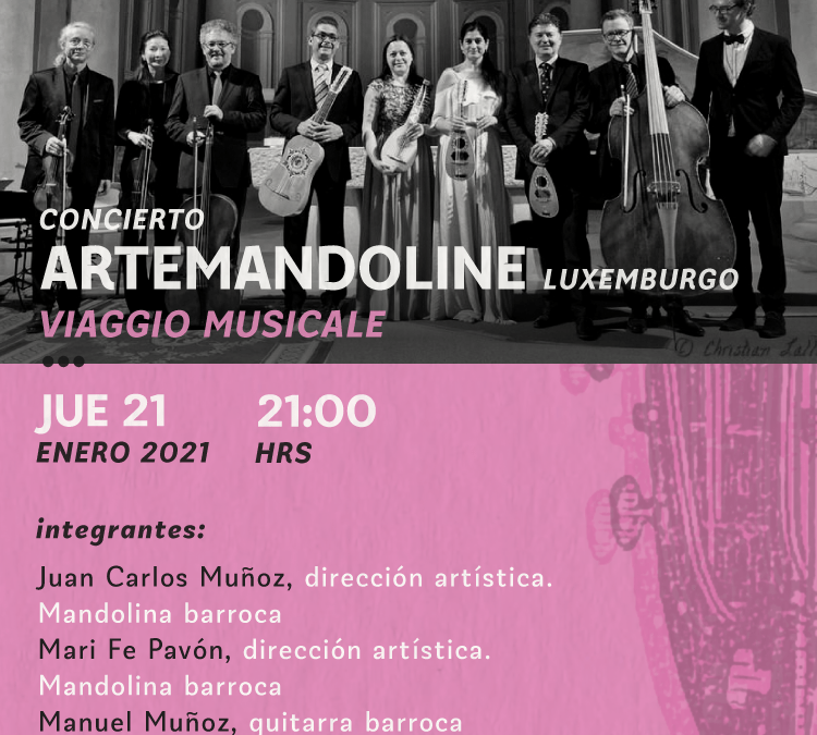 Festival Internacional de Música Antigua: Artemandoline