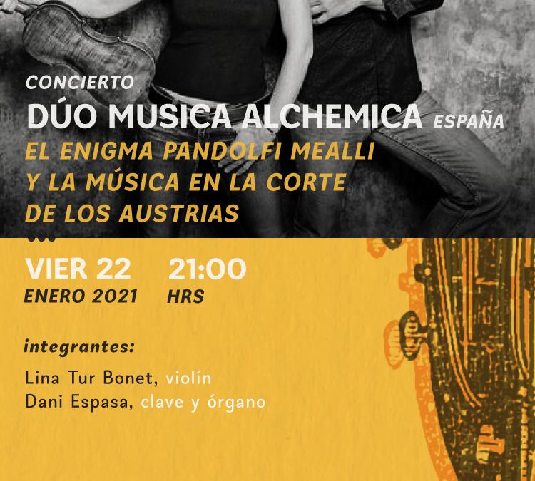 Festival Internacional de Música Antigua: Dúo Música Alchemica