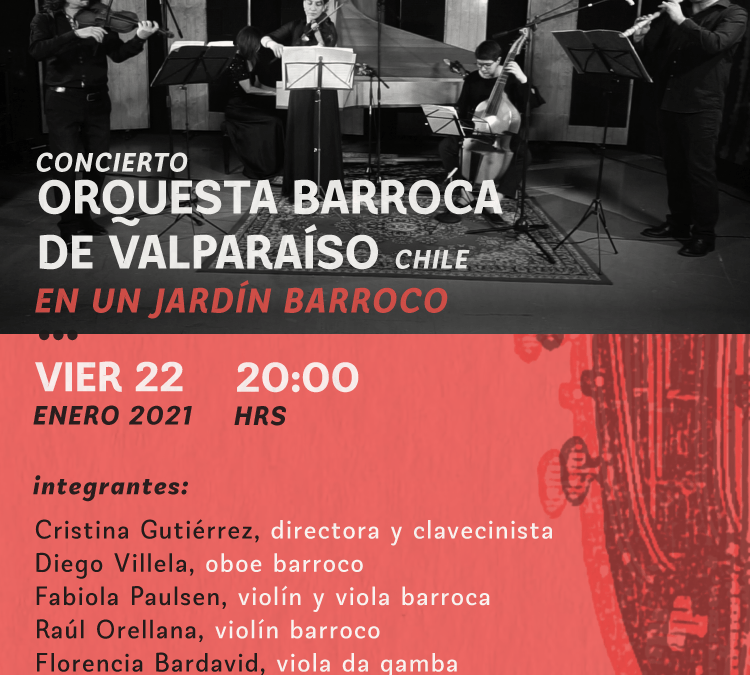 Festival Internacional de Música Antigua: Orquesta Barroca de Valparaíso
