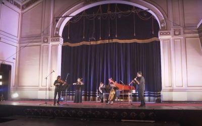 FIMA presenta a la Orquesta Barroca de Valparaíso en TV