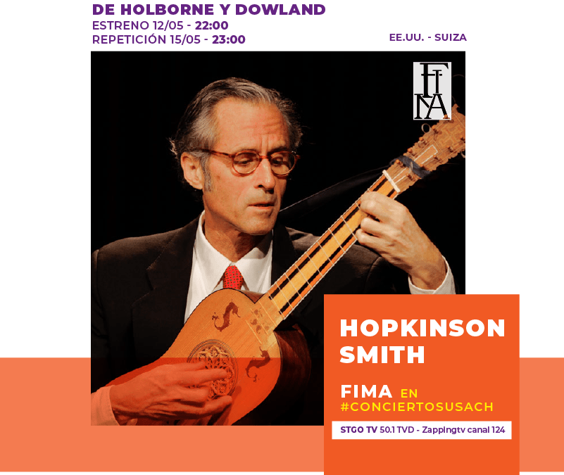 FIMA en Stgo TV: Hopkinson Smith