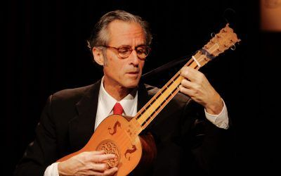 Hopkinson Smith, referente mundial de la música antigua, en Stgo TV