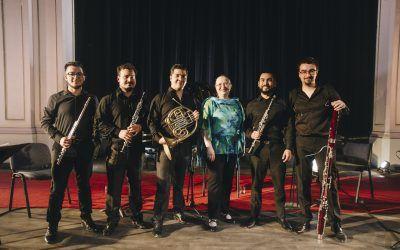 Junto a Svetlana Kotova, el Quinteto de Vientos Usach presenta un especial de música chilena