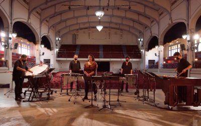 Ensamble de Percusiones Usach debuta con un homenaje a Joane Florvil