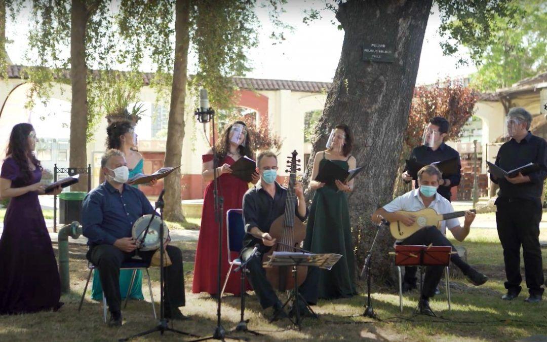 Coro Madrigalista Usach vuelve a Stgo TV con música hispanoamericana del siglo XVI y XVII